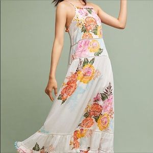 Anthropologie Havana Floral Dress